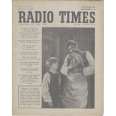 RT 1403 - September 1, 1950 (Sep 3-9) (Wales) TREASURE ISLAND Pieces of Eight - with cover photo of Bobby Driscoll and Robert Newton.