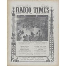 RT 1450 - August 24, 1951 (Aug 26-Sep 1) (West of England) RADIO SHOW NUMBER Broadcast from Earl's Court.
