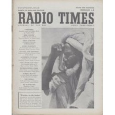 RT 1473 - February 1, 1952 (Feb 3-9) (Television Edition) WINDOW ON THE SUDAN (Home Service) with photo of a chieftain of the Hadendoa tribe of nomads.