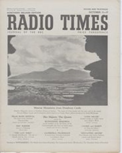RT 1561 - October 9, 1953 (Oct 11-17) (Northern Ireland - with regional cover) COUNTRY MAGAZINE returns to Northern Ireland.