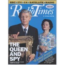 RT 3539 - 19-25 October 1991 Screen One A QUESTION OF ATTRIBUTION by Alan Bennett (BBC1) with cover photo of  James Fox & Prunella Scales
