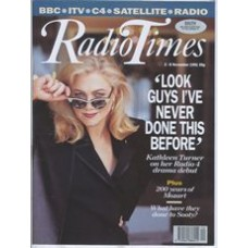 RT 3541 - 2-8 November 1991 KILLING ORDERS (Radio 4) with cover photo of  Kathleen Turner