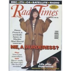 RT 3542 - 9-15 November 1991 MURDER MOST HORRID (BBC2) with cover photo of  Dawn French