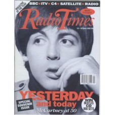 RT 3572 - 13-19 June 1992 (South West) SPECIAL SOUVENIR ISSUE - Paul McCartney at 50