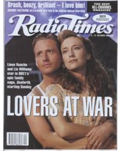 RT 3691 - 8-14 October 1994 (South) SEAFORTH (BBC1) with cover photo of Linus Roache and Lia Williams