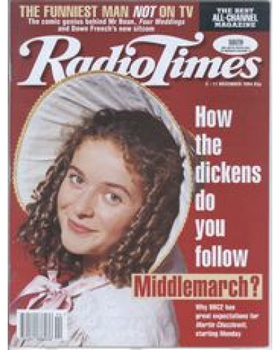 RT 3695 - 5-11 November 1994 MARTIN CHUZZLEWIT (BBC2) with cover photo of Julia Sawalha.