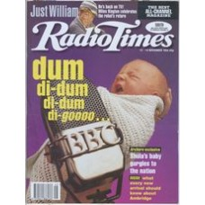 RT 3696 - 12-18 November 1994  (Midlands) THE ARCHERS (Radio 4) Shula's baby & a BBC microphone.