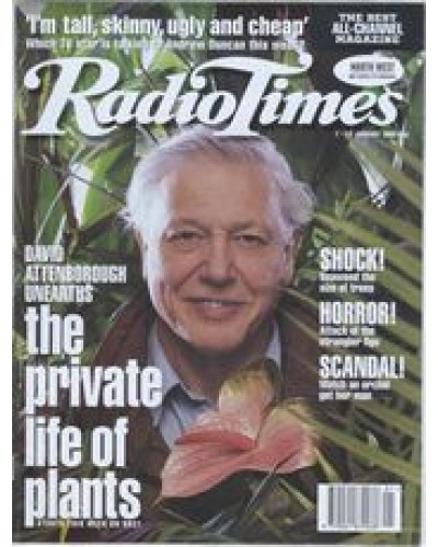 RT 3703 - 7-13 January 1995 THE PRIVATE LIFE OF PLANTS (BBC1) David Attenborough