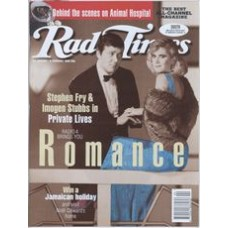 RT 3706 - 28 January-3 February 1995 THE MONDAY PLAY (Radio 4) Private Lives - Stephen Fry, Imogen Stubbs