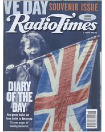 RT 3720 - 6-12 May 1995 VE DAY - Souvenir Issue. With cover photo of  a little girl with a Union Jack.