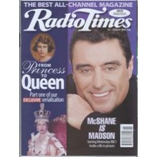 RT 3768 - 13-19 April 1996 (South West) MADSON (BBC1) Ian McShane. / Princess to Queen - extracts from new biography.