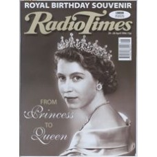 RT 3769 - 20-26 April 1996 (Midlands) QUEEN'S 70TH BIRTHDAY (BBC1, ITV, Radio 2) PRINCESS TO QUEEN (BBC1)