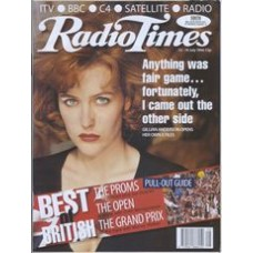 RT 3781 - 13-19 July 1996 (London) FUTURE FANTASTIC (BBC1) Gillian Anderson / THE X FILES (BBC2)