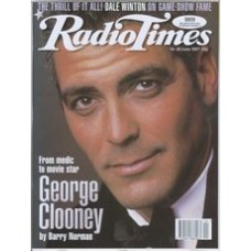 RT 3828 - 14-20 June 1997 (West/Wales) FILM 97 (BBC1) George Clooney - New Batman talks to Barry Norman.