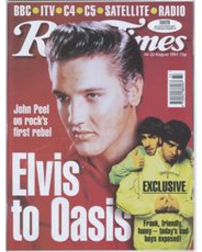 RT 3837 - 16-22 August 1997 (London) OASIS - RIGHT HERE RIGHT NOW (BBC1) Elvis Presley, Oasis