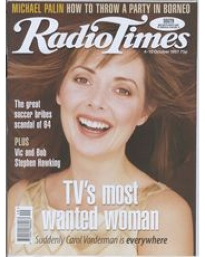 RT 3844 - 4-10 October 1997 MYSTERIES WITH CAROL VORDERMAN (BBC1) Carol Vorderman