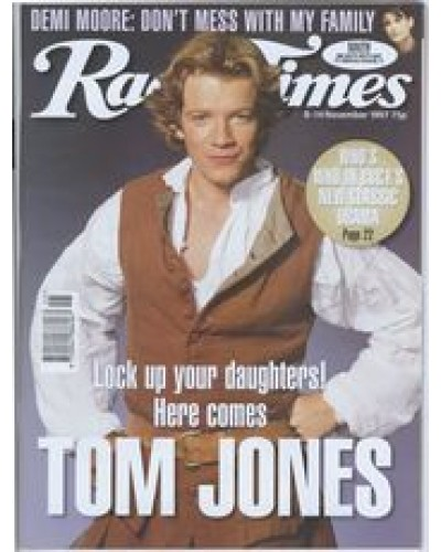 RT 3849 - 8-14 November 1997 TOM JONES (BBC1) with cover photo of Max Beesley.