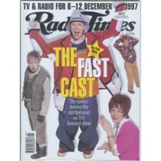RT 3853 - 6-12 December 1997 (Midlands) THE FAST SHOW (BBC2) with cover photo of Paul Whitehouse, Mark Williams, John Thomson and Arabella Weir