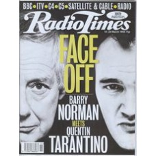 RT 3866 - 14-20 March 1998 (North West) FILM 98 (BBC1) Barry Norman and Quentin Tarantino.