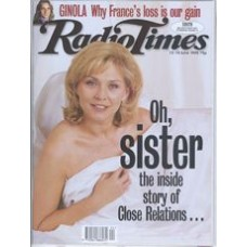 RT 3879 - 13-19 June 1998 (North West) CLOSE RELATIONS (BBC1) with cover photo of Amanda Redman