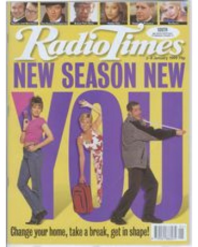 RT 3907 - 2-8 January 1999 (East Anglia) New Season New You CHANGING ROOMS with cover photo of Carol Smillie / HOLIDAY Jill Dando / WEIGHT OF THE NATION Dale Winton.