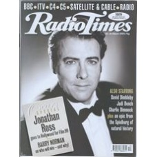 RT 3918 - 20-26 March 1999 (London) Oscars Special THE 71st ANNUAL ACADEMY AWARDS (Sky Premier) with cover photo of Jonathan Ross.