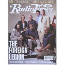 RT 3939 - 14-20 August 1999 (London) BBC's top foreign correspondents - with gate cover - Bridget Kendall, Kate Adie, Brian Hanrahan, George Alagiah, Fergal Keane, John Simpson, Jeremy Bowen, Ben Brown, Rageh Omaar, Mike Williams, David Loyn, Philippa Tho