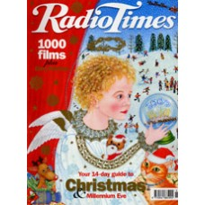RT 3957 - 18-31 Dec 1999 (London) CHRISTMAS NUMBER 1999 and MILLENNIUM EVE DOUBLE ISSUE with cover illustration (by Matilda Harrison) of an angel looking into a crystal ball.