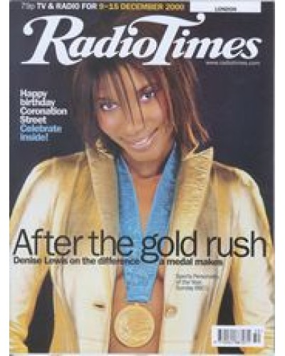 RT 4007 - 9-15 December 2000 (South West) SPORTS PERSONALITY OF THE YEAR Denise Lewis on the difference a medal makes / Also CORONATION STREET 40th Anniversary.
