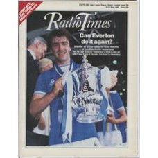 RT 3209 - 18-24 May 1985 (South) FA CUP FINAL Everton v Manchester United. Kevin Ratcliffe / MATCH OF THE DAY / CUIP FINAL SPORT ON 2