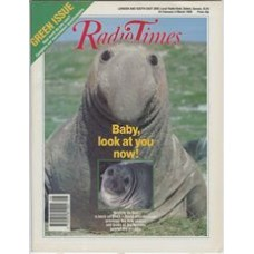 RT 3403 - 25 February-3 March 1989 GREEN ISSUE / WILDLIFE ON ONE with David Attenborough. Wildlife cover.