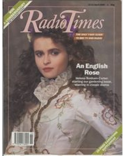 RT 3410 - 15-21 April 1989  THEATRE NIGHT: ARMS AND THE MAN (BBC2) with cover photo of Helena Bonham-Carter.