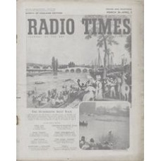 RT 1585 - March 26, 1954 (Mar 28-Apr 3) (West of England) THE UNIVERSITY BOAT RACE - The Hundredth. With cover illustration of the first race at Henley in 1829 - and photo of  The Winning Post at Mortlake.