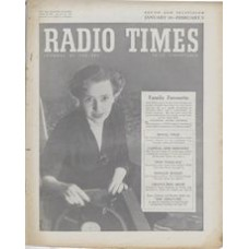 RT 1629 - Jan 28, 1955 (Jan 30-Feb 5) (West of England) NATIONAL RADIO AWARDS with cover photo of Jean Metcalfe.