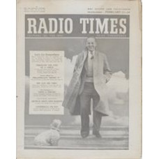 RT 1631 - February 11, 1955 (Feb 13-19) (Wales) LET'S GO SOMEWHERE (Light) With cover photo of Brian Johnston.