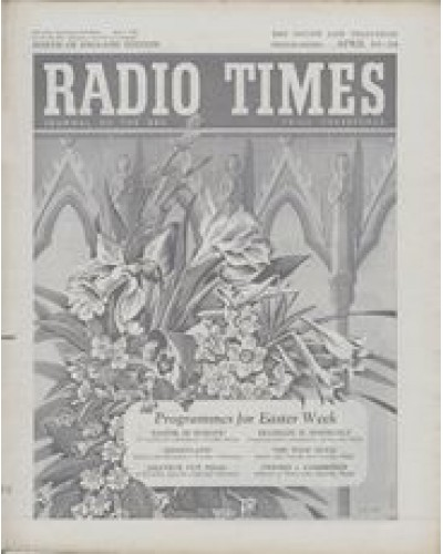 RT 1639 - April 8, 1955 (Apr 10-16) (West of England) EASTER with cover drawing (by James Hart) of spring flowers.
