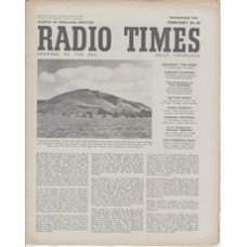 RT 1323 - February 18, 1949 (Feb 20-26) (London) THIS IS THE WEST OF ENGLAND - a Radio Poster of The West Country.