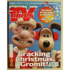 TVT 1996/Xmas - 21 December 1996 - 3 January (South) CHRISTMAS 1996 & NEW YEAR DOUBLE ISSUE - with cover picture of Wallace and Gromit.