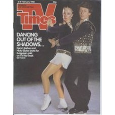 TVT 1985/06 - 2-8 February 1985 (HTV and C4) EUROPEAN FIGURE SKATING CHAMPIONSHIPS Karen Barber, Nicky Slater.