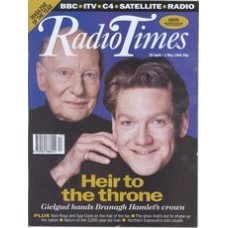RT 3565 - 25 Apr-1 May 1992 (South) HAMLET (Radio 3) John Gielgud & Kenneth Branagh