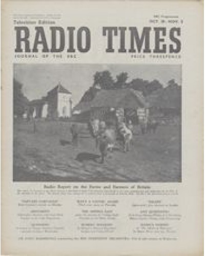 RT 1459 - October 26, 1951 (Oct 28-Nov 3) (Scotland) PASTURE AND PLOUGH Radio Report on the Farms and Farmers of Britain