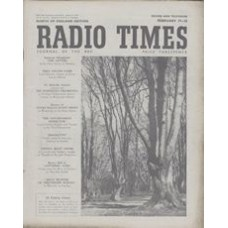 RT 1475 - February 15, 1952 (Feb 17-23) (Wales) COUNTRY MAGAZINE - with cover photo taken in Epping Forest