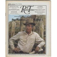 RT 2485 - 24 June 1971 (26 Jun-2 Jul) (East Anglia) THE LONG HOT SUMMER (BBC1) with cover photo of Paul Newman - box office star 1970