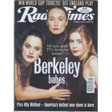 RT 3877 - 30 May-5 June 1998 (London) BERKLEY SQUARE - Clare Wilkie, Victoria Smurfit & Tabitha Wady. Fourth of a ten-part series following the fortunes of three nannies in turn-of-the-century London.