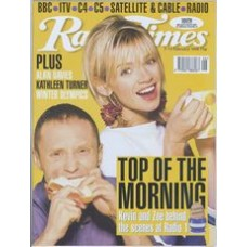 RT 3861 - 7-13 February 1998 (North West) KEVIN GREENING AND ZOË BALL (Radio 1) with Kevin and Zoë on the cover / WINTER OLYMPICS