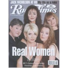 RT 3863 - 21-27 February 1998 (London) REAL WOMEN (BBC1) Pauline Quirke, Frances Barber, Michelle Collins, Lesley Manville, Gwyneth Strong.