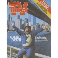 TVT 1985/24 - 8-14 June 1985 (Thames/LWT and C4) THE ZODIAC GAME - Russell Grant - Over the moon in New York City.