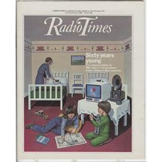 RT 3092 - 12-18 February 1983 (Northern Ireland) BBC CHILDREN'S PROGRAMMES Diamond Jubilee - with cover illustration (by Ann Sharp) of children.