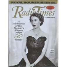 RT 3553 - 1-7 February 1992 (South) ROYAL SOUVENIR ISSUE - 40-year reign of Elizabeth II - with cover photo of the young queen.