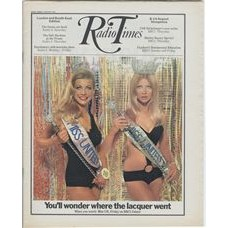 RT 2439 - 6 August 1970 (8-14 Aug) (Midlands & East Anglia) MISS UNITED KINGDOM (BBC1) with cover photo of Greta Noris, a model, posing as Miss UK 1960-style and 1970-style. / [MISS WORLD]